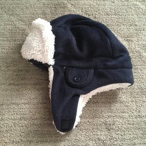 Baby Gap Sherpa Fleece Cozy Winter Trapper Hat